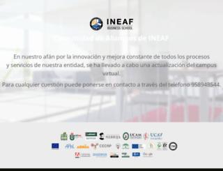 campus.ineaf.es screenshot