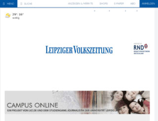 campus.lvz-online.de screenshot