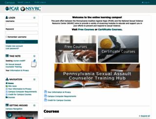 campus.nsvrc.org screenshot