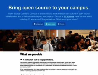 campus.openhatch.org screenshot