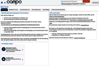 campus.uni-erlangen.de screenshot