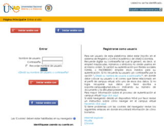 campus05.unad.edu.co screenshot
