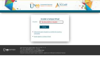campus0d.unad.edu.co screenshot