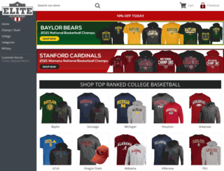 campusapparelstore.com screenshot