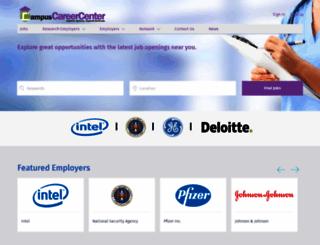 campuscareercenter.com screenshot
