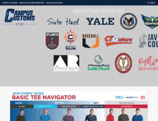 campuscustoms.com screenshot