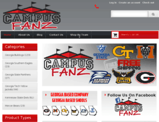 campusfanz.com screenshot