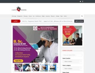 campusfreshers.com screenshot