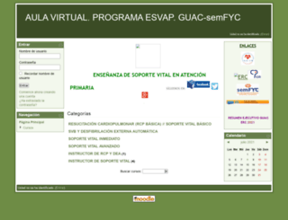 campusguacsemfyc.es screenshot