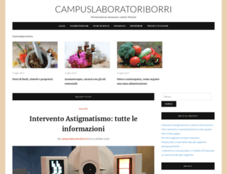 campuslaboratoriborri.it screenshot