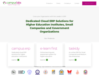 campuslabs.in screenshot