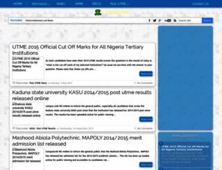 campuslink.com.ng screenshot
