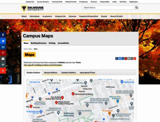 campusmap.dal.ca screenshot
