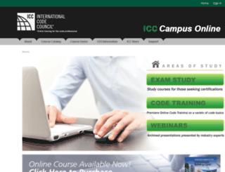 campusonline.iccsafe.org screenshot