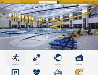 campusrec.utc.edu screenshot