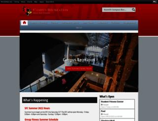 campusrecreation.illinoisstate.edu screenshot