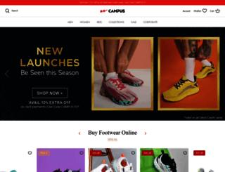 campusshoes.com screenshot