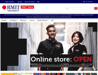 campusstore.rmit.edu.au screenshot