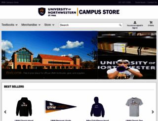 campusstore.unwsp.edu screenshot