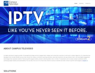 campustelevideo.com screenshot