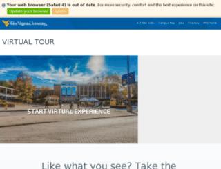 campustour.wvu.edu screenshot