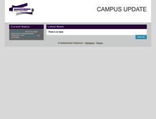campusupdate.ca screenshot