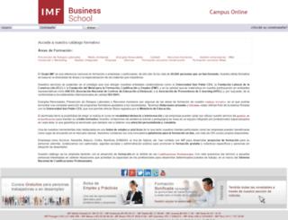 campusvirtual.imf-formacion.com screenshot