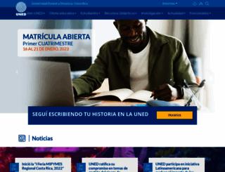 campusvirtual.uned.ac.cr screenshot