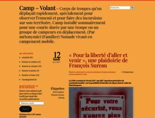campvolant.wordpress.com screenshot