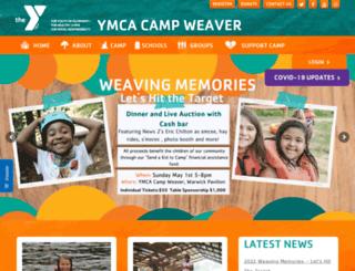 campweaver.org screenshot