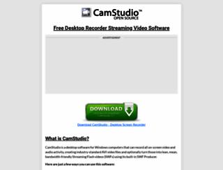 camstudio.org screenshot