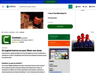 camtasia-studio.softonic.fr screenshot