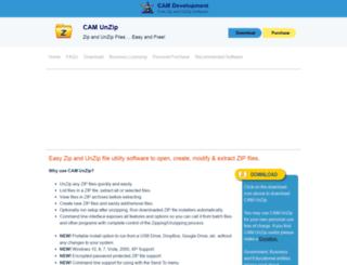 camunzip.com screenshot