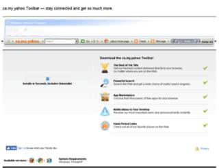 camyyahoo.mylibrarytoolbar.com screenshot