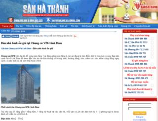 can-ban-chung-cu-vp6-linh-dam.sanhathanh.com screenshot