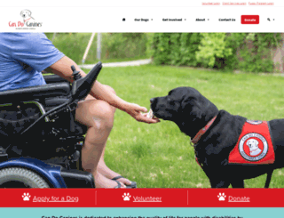 can-do-canines.org screenshot