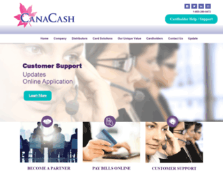 canacash.ca screenshot