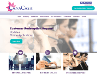 canacash.com screenshot