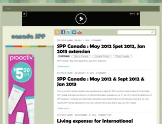 canada-spp.com screenshot