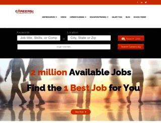 canada.careers.org screenshot