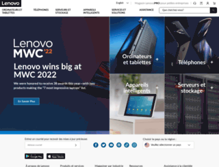 canada.lenovo.com screenshot