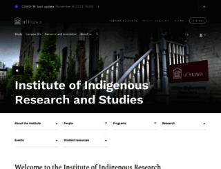 canada.uottawa.ca screenshot