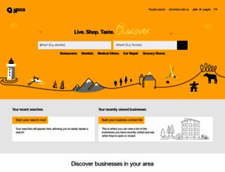 canada411.yellowpages.ca screenshot