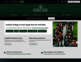 canadacollege.edu screenshot