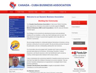 canadacubabusiness.com screenshot