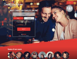 canadadatingsite.com screenshot