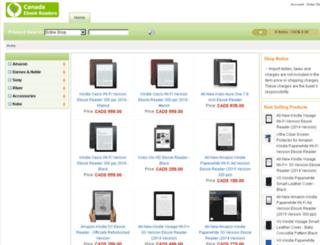 canadaebookreaders.com screenshot
