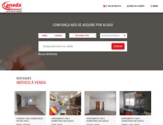 canadaimoveis.com.br screenshot