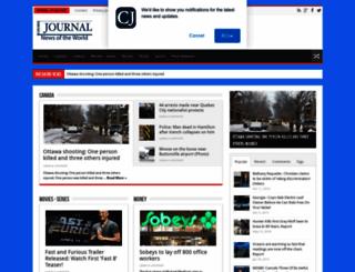 canadajournal.net screenshot