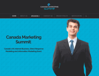 canadamarketingsummit.ca screenshot
